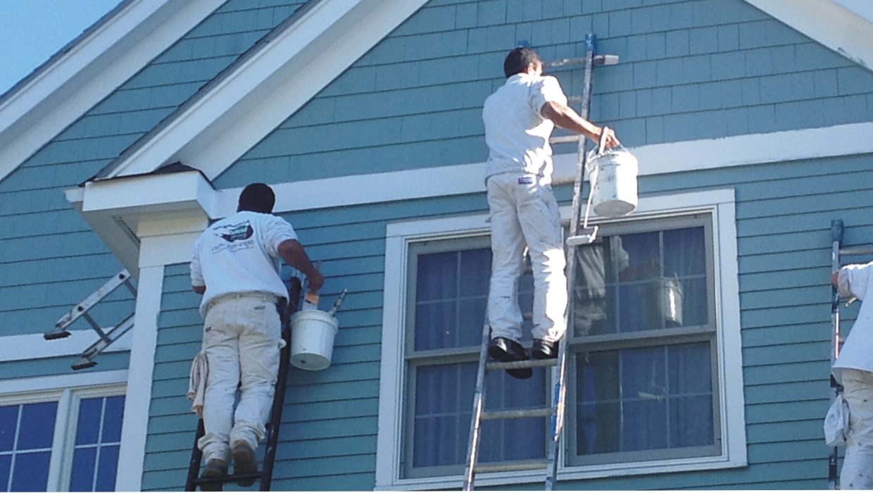 Exterior Trim Painting Falmouth Sandwich Bourne Mashpee Barnstable